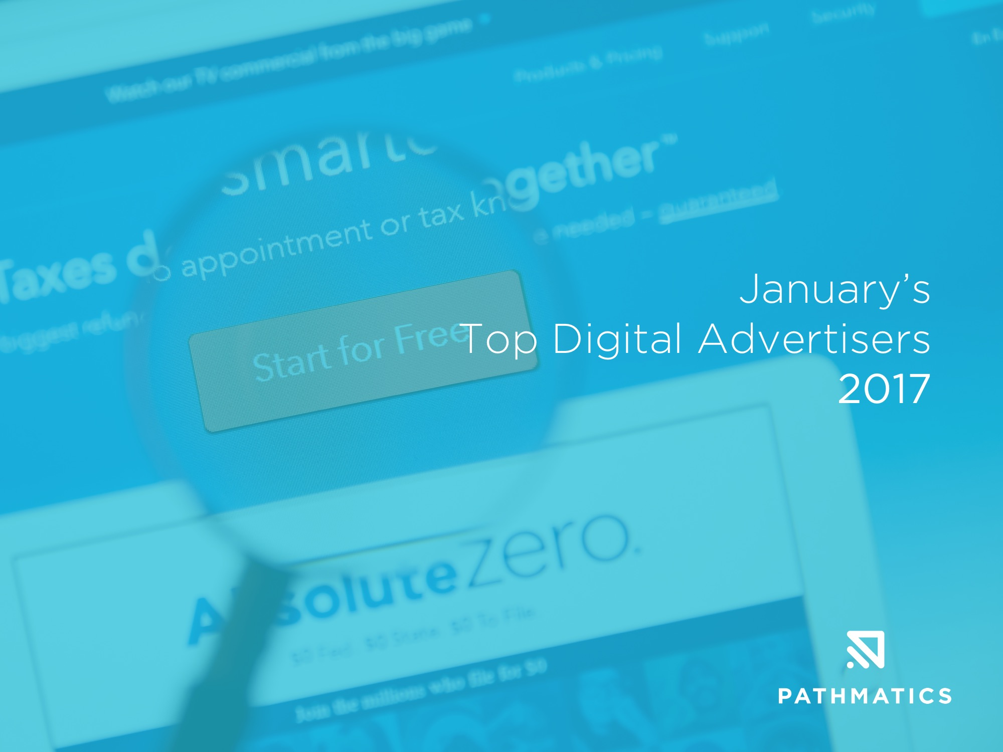 January's Top Digital Advertisers - Featured Image