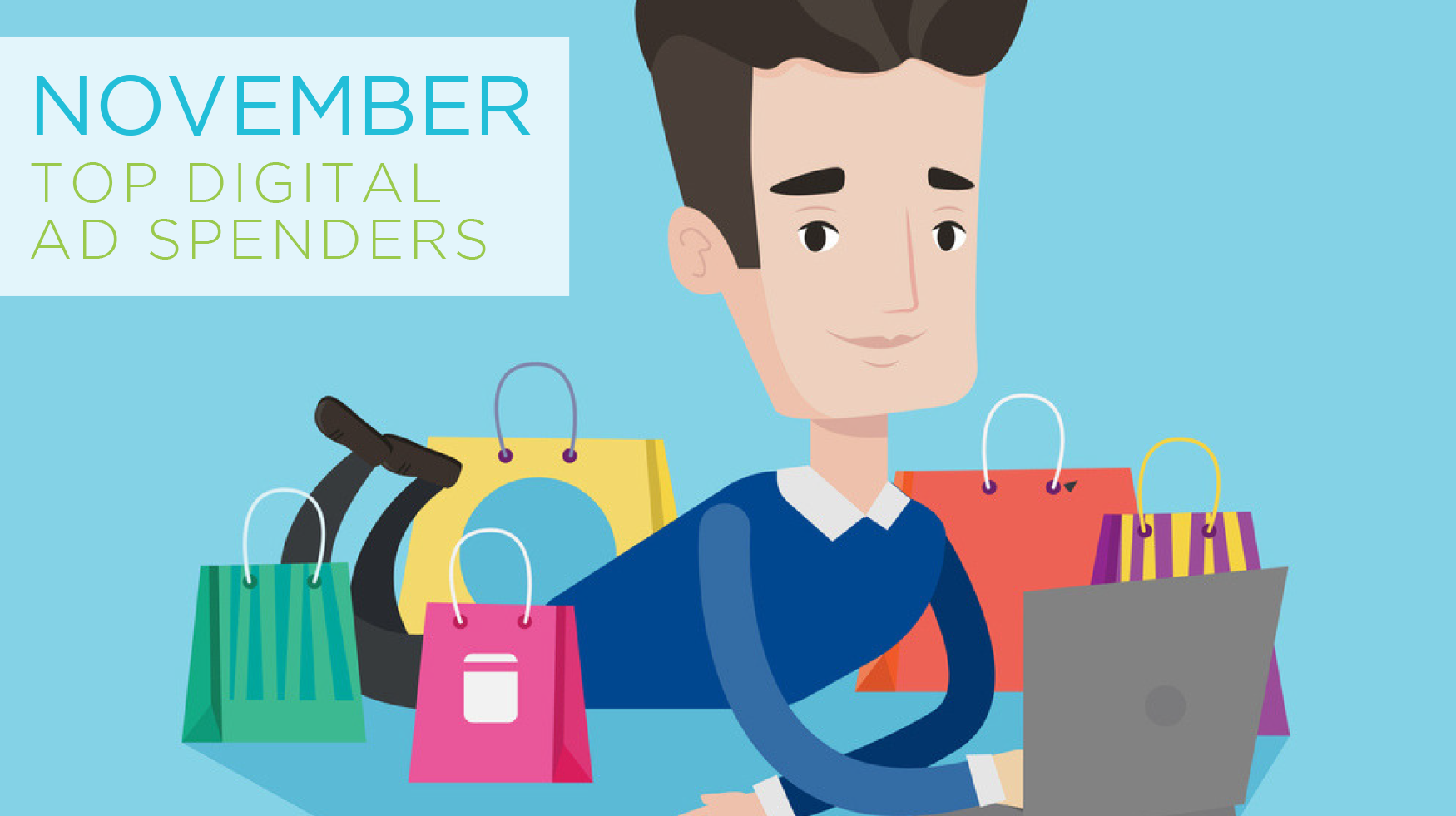 November's Top Digital Advertisers - Featured Image